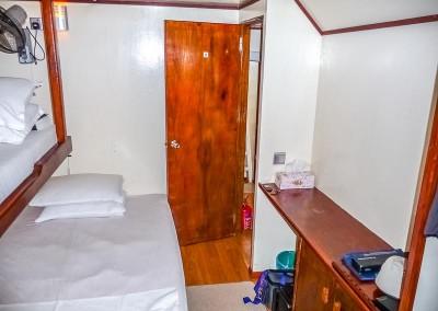 Noah Maldives safari boat - cabins